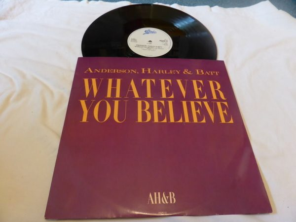 ANDERSON HARLEY AND BATT - WHATEVER YOU BELIEVE