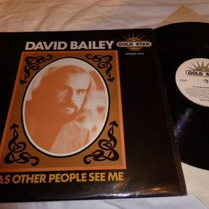 DAVID BAILEY - AS OTHER PEOPLE SEE ME