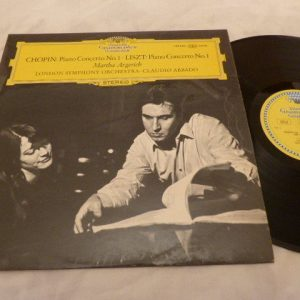 Chopin·Liszt-Martha Argerich·LSO ·Claudio Abbado?–Piano Concerto No. 1