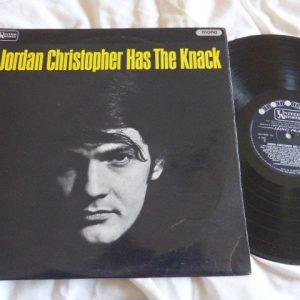 JORDAN CHRISTOPHER - HAS THE KNACK (UK FACTORY SAMPLE)