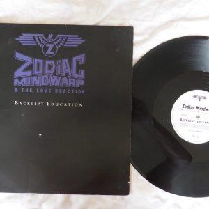 ZODIAC MINDWARP & THE LOVE REACTION - BACKSEAT EDUCATION